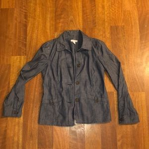 Charter Club Jean Button Up